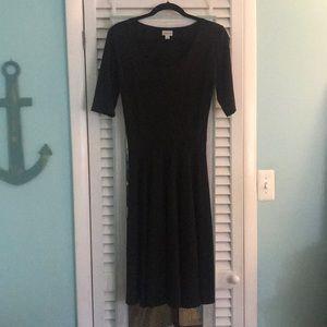 Lularoe Black Nicole Dress